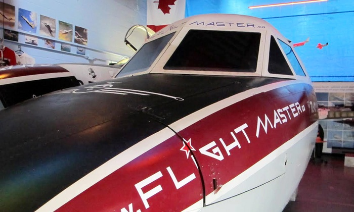 Flight Master - York University Heights: Hour in Flight Simulator for One, Two or Four at Flight Master (Up to 76% Off)
