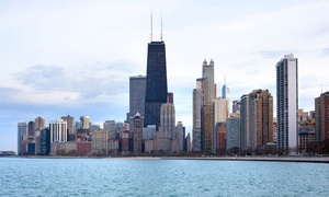 Gray Line Chicago: 4-Hour Grand Tour with Pizza or Hancock Observation-Deck Visit for One from Gray Line Chicago (Up to 29% Off)