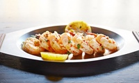 Two-Course Meal for Two or Four at Monte Carlo Hoylake (Up to 52% Off)