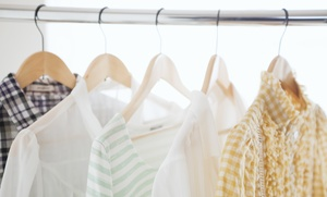 Rinse: Laundry and Dry Cleaning Delivery at Rinse (Up to 86% Off). Three Options Available.