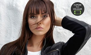 Cássia Fashion Hair: Cássia Fashion Hair – Vila Industrial: escova progressiva de argan (opção de corte e manicure)