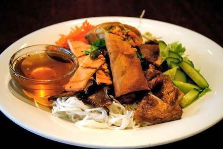 Vegetarian Cuisine at Andy Nguyen Vegetarian (Up to 42% Off). Two Options Available.