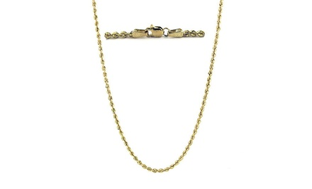 14-Karat Solid-Gold Rope Chains from $139.99–$169.99
