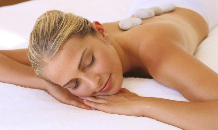 Heaven Scent Day Spa & Salon - Heaven Scent Day Spa & Salon: One or Three 60-Minute Hot-Stone Massages at Heaven Scent Day Spa & Salon (Up to 52% Off)