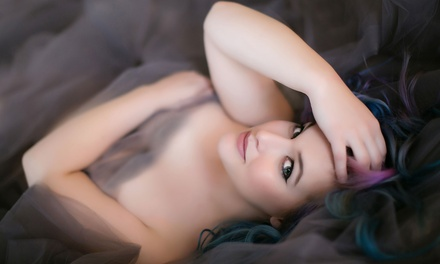 $38 for 90-Minute Boudoir Photo-Shoot Package at The Beauty & Boudoir Studio ($450 Value)