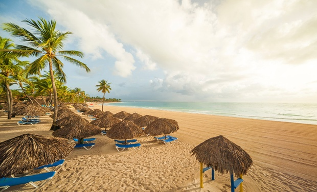 TripAlertz wants you to check out ✈ 6-Night All-Inclusive Caribe Club Princess Beach Resort & Spa Stay with Air. Price Per Person Based on Dbl Occupancy. ✈ Caribe Club Princess Beach Resort Stay w/ Air from Travel by Jen - All-Inclusive Punta Cana Trip