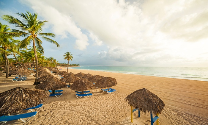 Caribe Club Princess Beach Resort Stay w/ Air from Travel by Je