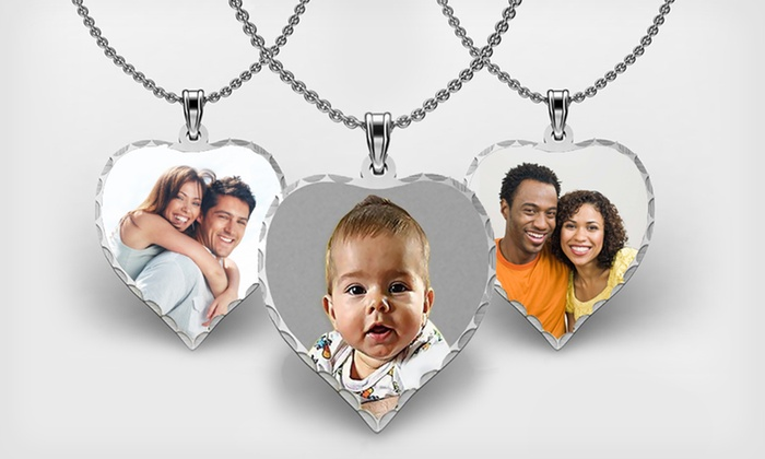 Sterling Silver Custom Photo Heart Pendant: $29.99 for a Sterling Silver Custom Photo Heart Pendant from PicturesOnGold.com ($59.95 List Price). Free Shipping.