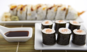 Japanese Food at Aki Sushi (55% Off). Two Options Available.