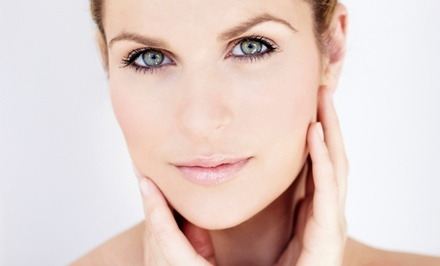Four Skin-Tightening Sessions at Skinfinity Spa (Up to 58% Off). Four Options Available.