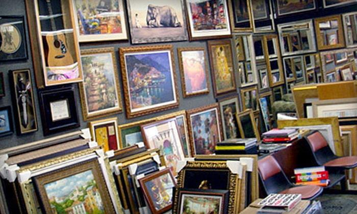 Picture Framing Outlet - Picture Framing Outlet: $100 Toward Custom Framing