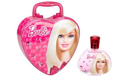 Barbie Eau de Toilette for Kids and Metal Lunch Box