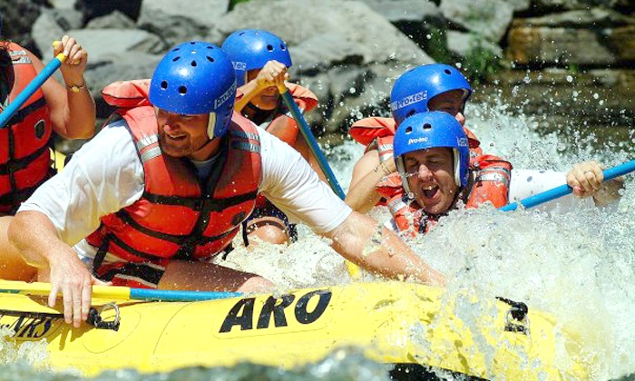 Adirondack River Outfitters Adventures - Multiple Locations: $109 for Whitewater Rafting for Two on Black River or Hudson River from Adirondack River Outfitters (Up to $198 Value)