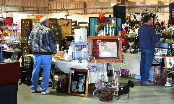 Tanners Marketplace Antiques and Collectibles Shows - THE RENO LIVESTOCK EVENTS CENTER: $12 for Admission for Up to Four to the Tanners Marketplace Antiques and Craft Shows ($20 Value)