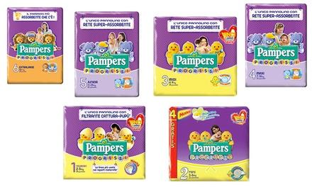 Fino a 168 pannolini Pampers Progressi in varie misure da 39,89 € (fino a 33% di sconto)
