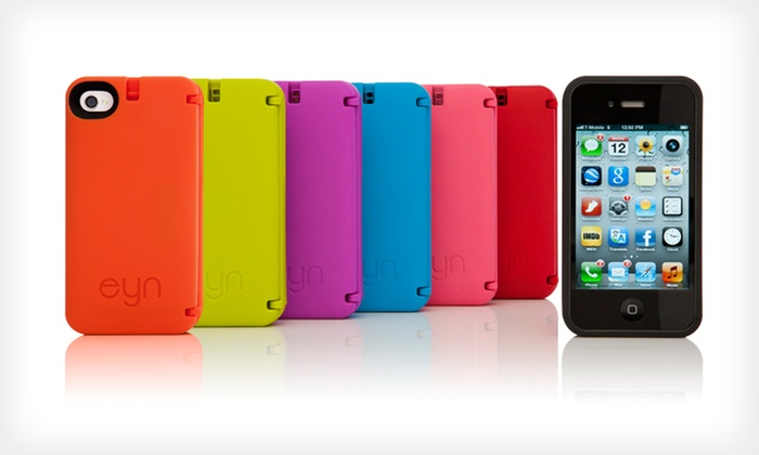 Eyn iPhone Storage Case: $17.99 for Eyn iPhone Storage Case for iPhone 4/4S or 5 ($29.99 List Price). Multiple Colors. Free Shipping and Returns.