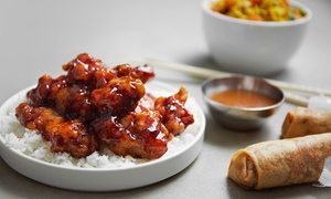 Asian Top Restaurant: Chinese and Japanese Food at Asian Top Restaurant (40% Off). Three Options Available.