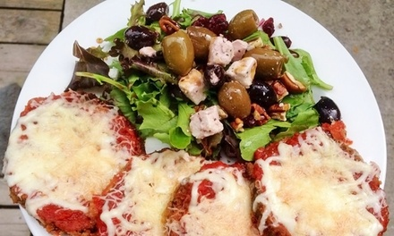 Italian Food at Lunch for Two or Four, or Italian Food for Take-Out atTre Sorelle (Up to 48% Off)