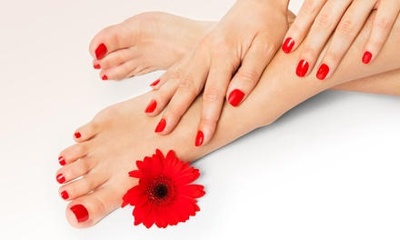 One or Three Mani-Pedis with Optional Reflexology at Holistic Foot Care (Up to 58% Off)