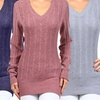 Stylish Women's Crew Neck and V-Neck Sweaters