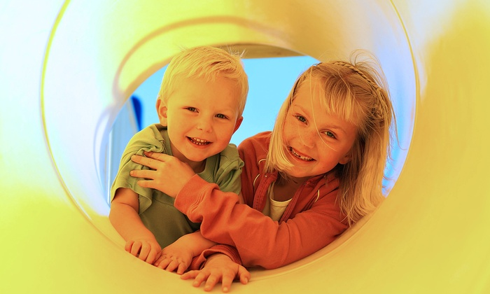 Lost in Fun - Lincoln: 10 Indoor-Playground Outings for Kids at Lost in Fun (Up to 45% Off). Three Options Available.