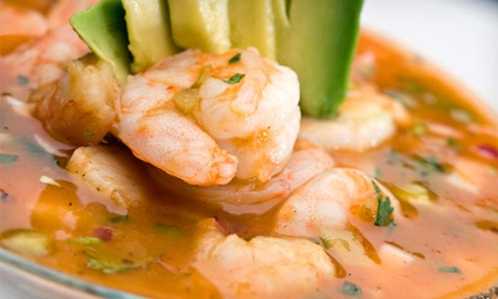 Mariscos El Costeno - Vista del Sol East: $10 for $20 Worth of Mexican Seafood Cuisine at Mariscos El Costeno