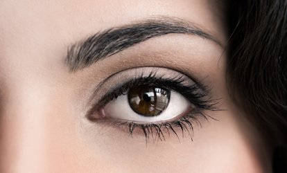 image for Eyebrow and Lash Tint with Brow Waxing or Optional Facial Treatment at Enhance Beauty Salon (Up to 52% Off*)