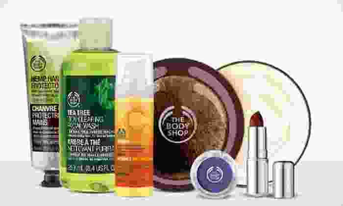 The Body Shop - Stockton: $10 for $20 Worth of Natural Skincare, Makeup, Hair, and Body Products at The Body Shop
