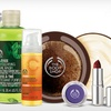 The Body Shop - $10 for Skin and Body Products