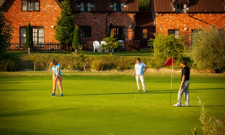 One Month of Golf for One or Two at Colmworth and North Beds Golf Club (Up to 56% Off)