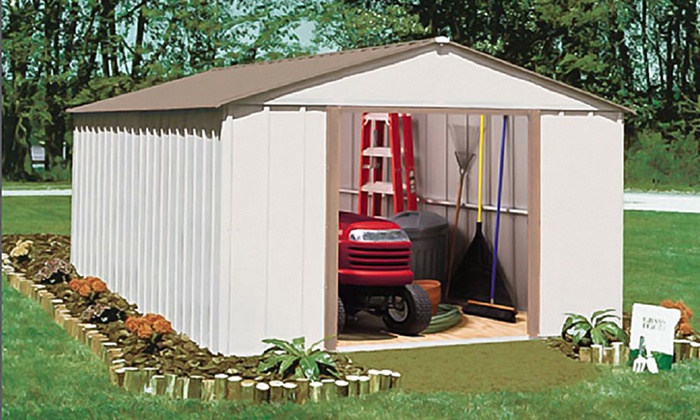 Arrow Sheds Oakbrook 10u0027x14u0027 Storage Shed