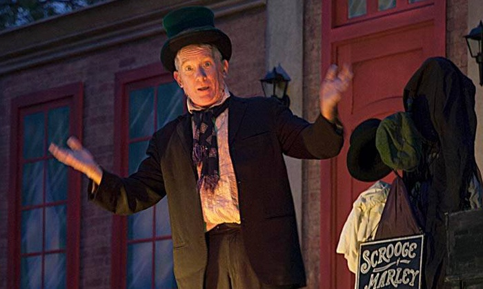"Scrooge on the Riverwalk! - The Arneson River Theater: The Company Theatre's ""Scrooge on the Riverwalk!"" on December 19 at 7:30 p.m."