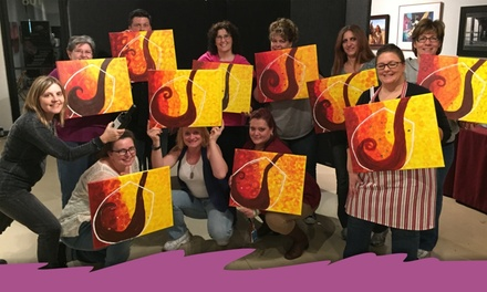 Up to 44% Off Two-Hour Painting Party with Supplies for One or Two  at Paint Party Night