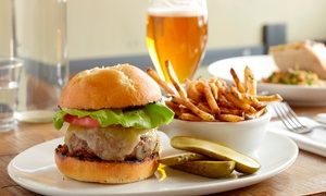 The Grain Store Wolverhampton: Three-Course Burger Meal for Two, Four or Six at The Grainstore Wolverhampton (Up to 52% Off)
