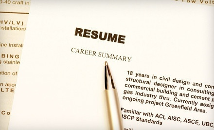 $85 for Professional ResumA© and Cover-Letter Service from JC Resumes ($260 Value)