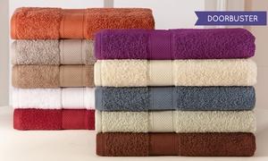 Wexley Home 600GSM 100% Egyptian Cotton Bath Towel Set (6-Piece): 6-Piece Wexley Home 600GSM 100% Egyptian Cotton Towel Set