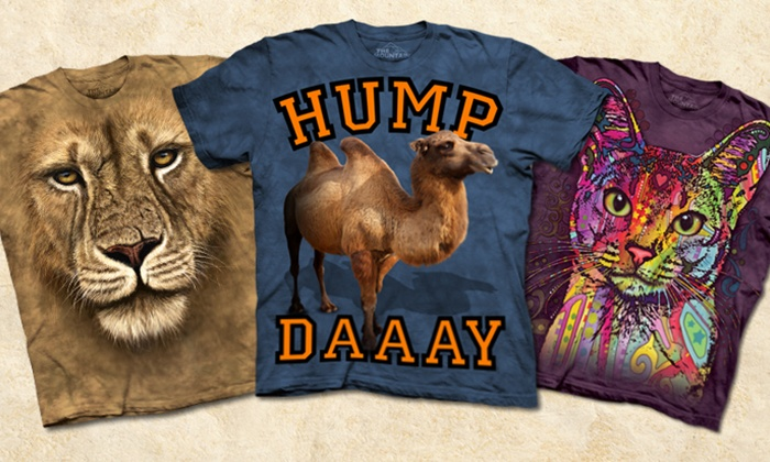 The Mountain: $10 for $20 Worth of Graphic T-Shirts from The Mountain