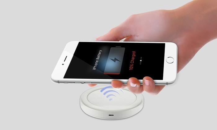 1 ou 2 Chargeurs sans fil à induction pour iPhone et smartphones Samsung/MicroUSB dès 1295€ (jusquà 71%)