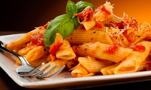 Primo's d' Italia: Pasta Meal for Two or Four or Italian Cuisine for Lunch or Dinner at Primo's d' Italia (Up to 50% Off)