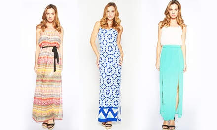 Junior's Maxi Dresses