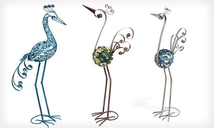 Exhart Filigree Decorative Bird Statues: $24 for an Exhart Filigree Bird Statue (Up to 52% Off). Four Options Available. Free Shipping and Returns.