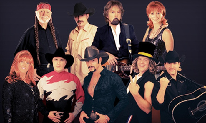 Country Superstars - V Theater: Country Superstars Tribute Concert for One or Two at the V Theater (Up to 57% Off)