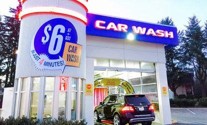 image for One, Two, or Three First Place Finish <strong>Car-Wash</strong> Packages at SpeedWash Express Coquitlam (Up to 51% Off)