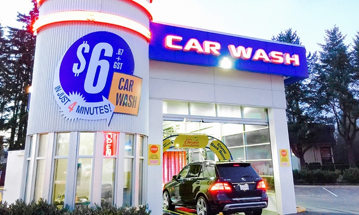SpeedWash Express Coquitlam - Coquitlam: One, Two, or Three First Place Finish Car-Wash Packages at SpeedWash Express Coquitlam (Up to 44% Off)