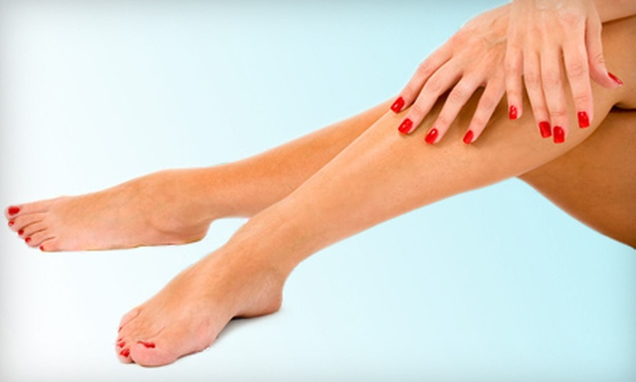 Pure Lotus Day Spa & Nails - Near North Side: $45 for Two Mani-Pedis at Pure Lotus Day Spa & Nails ($100 Value)