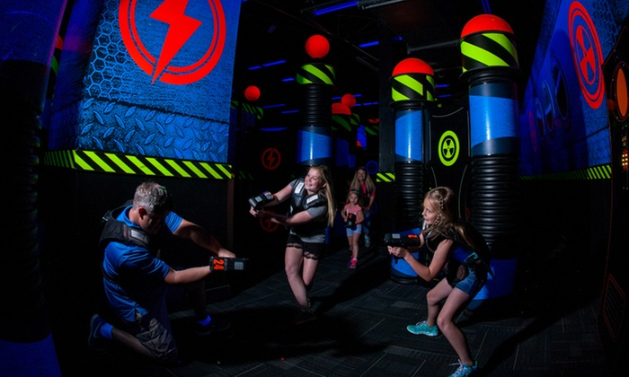 WonderWorks Pigeon Forge - Hendron: One, Two, or Four Laser-Tag Combo Tickets at WonderWorks Pigeon Forge (Up to 52% Off)