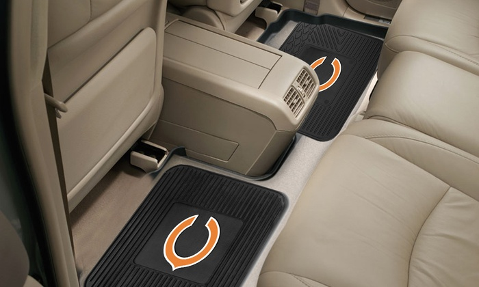 2-Pack of Chicago Bears Utility Mats: 2-Pack of Chicago Bears Utility Mats