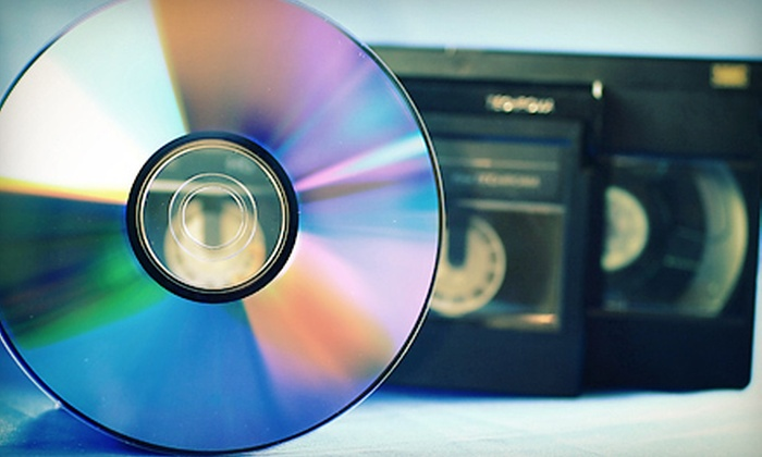 CAV Media Studios - Cental Napa: $40 for $100 Worth of Video-to-DVD Transfers at CAV Media Services
