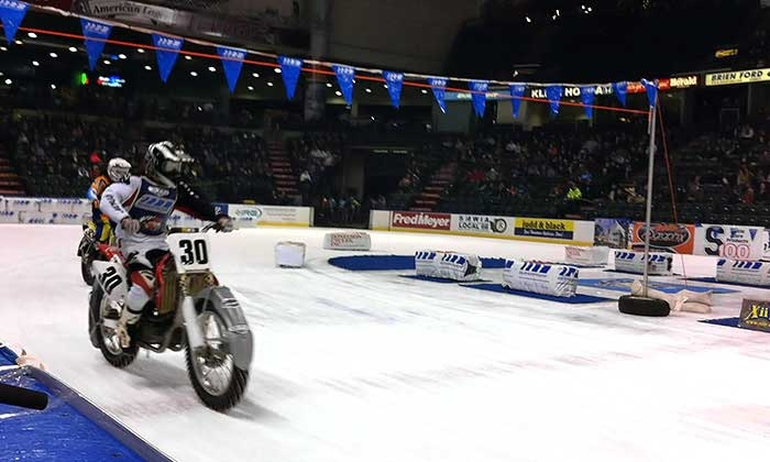 X-treme International Ice Racing - The XFINITY Arena at Everett: X-Treme International Ice Racing on Saturday, January 23, at 7:30 p.m.