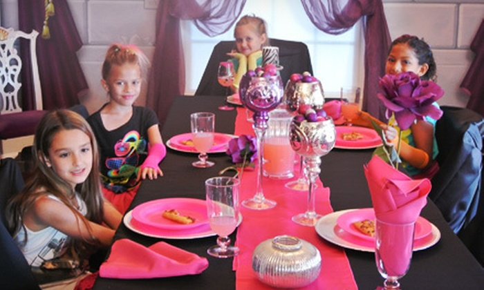 Mrs. Potts Tea Party - Mesa: $185 for a Two-Hour Rock-Star Party for Up to 12 at Mrs. Potts Tea Party ($375 Value)